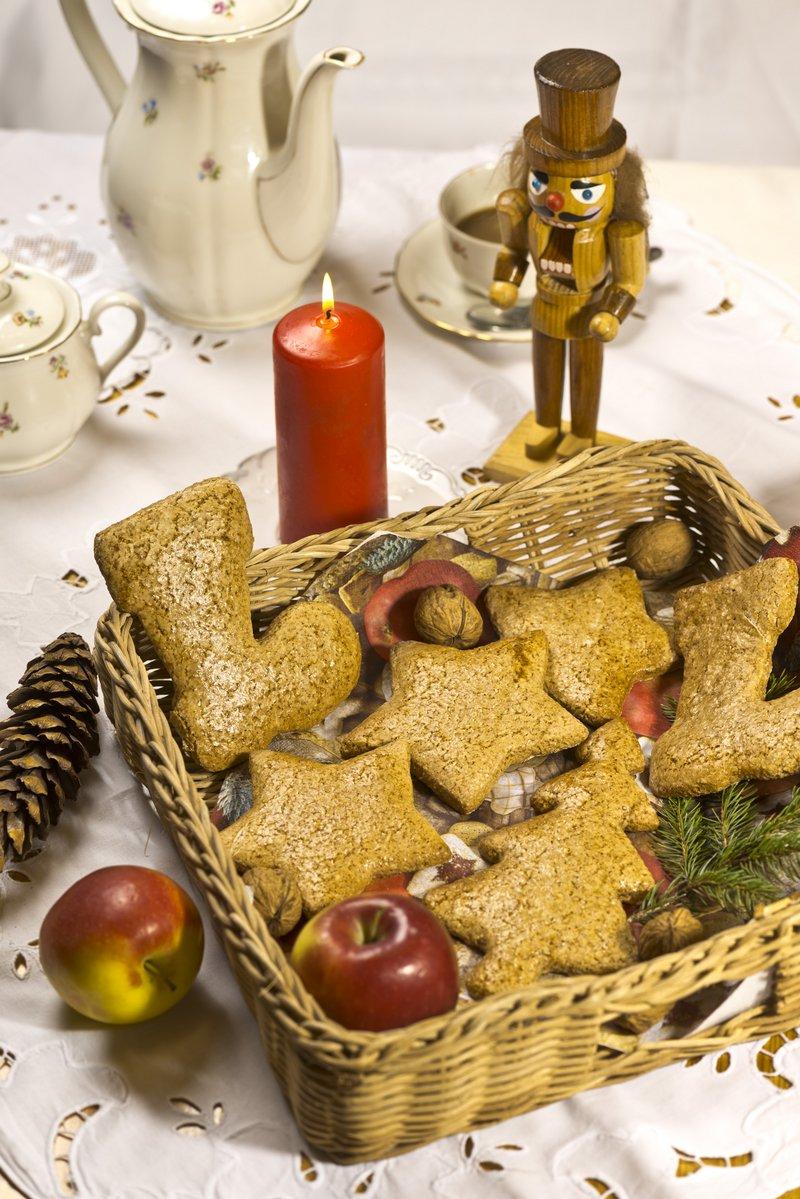 Traditionelles Weihnachtsgebäck.Traditionelles Weihnachtsgebäck Stadt Teuschnitz